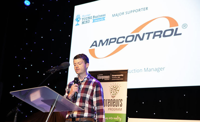 AMpcontrol delivery opening address at Hunter Young Business Mind Awards 2019