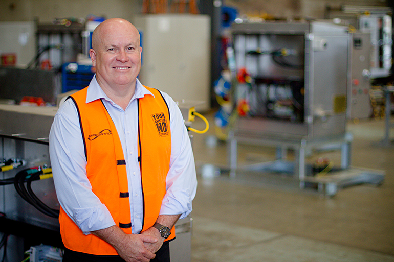 Rod Henderson CEO MD Ampcontrol