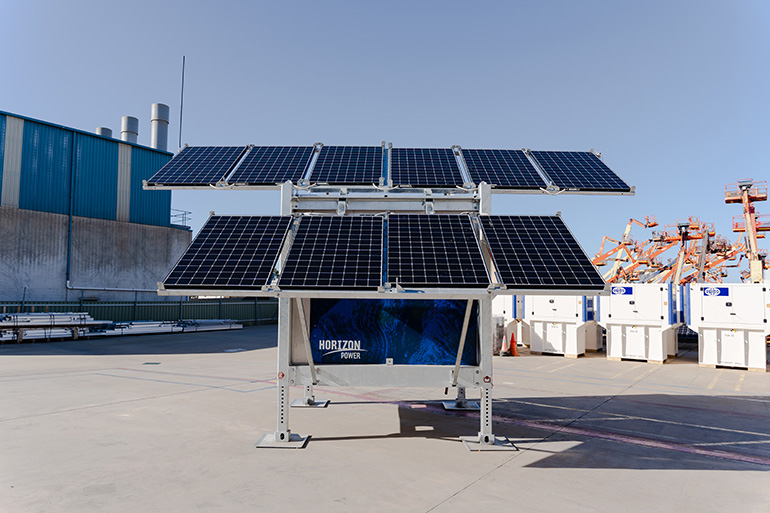 solar cube stand-alone power system